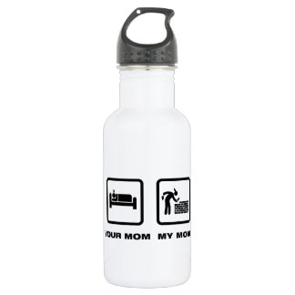 Bricklayer Stainless Steel Water Bottle