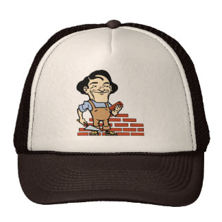 Bricklayer Trucker Hat