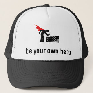 Bricklaying Hero Trucker Hat