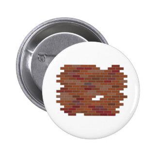 bricks 2 inch round button