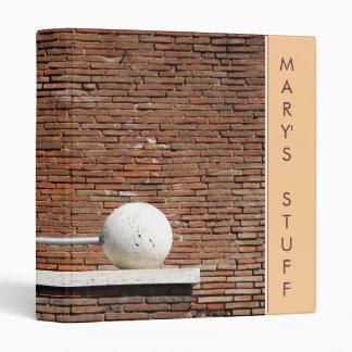 Bricks and Balls Binder
