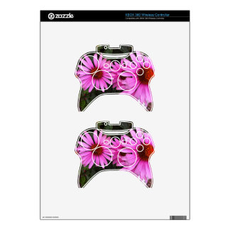 bricks and flowers xbox 360 controller skin