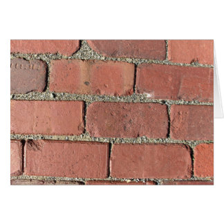 Bricks - Antique Street Pavers Card