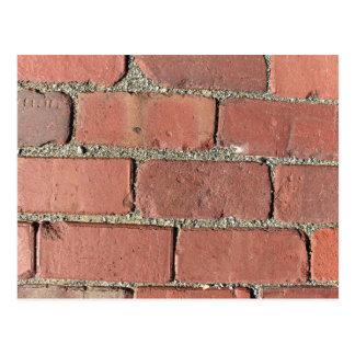 Bricks - Antique Street Pavers Postcard