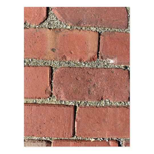 Bricks - Antique Street Pavers Postcard