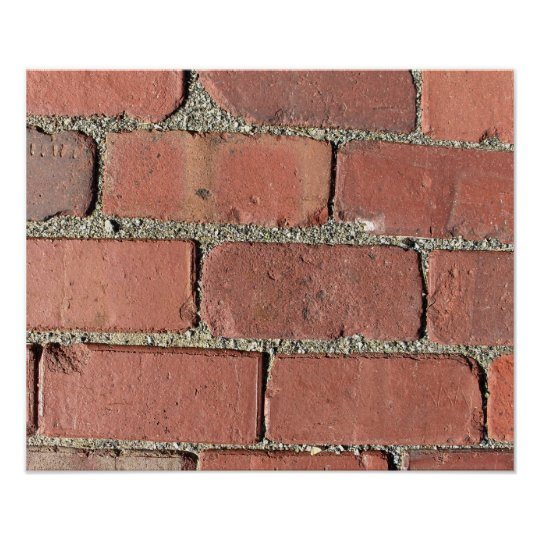 Bricks - Antique Street Pavers Poster