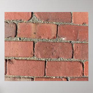 Bricks - Antique Street Pavers Posters