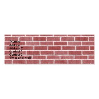 Bricks Business Card Template