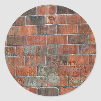 bricks classic round sticker