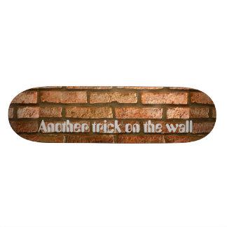 Bricks design deck skate board deck
