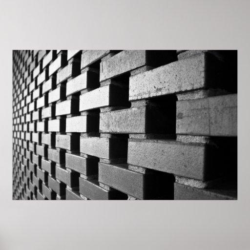 Bricks Forever (Vanishing Point) Poster
