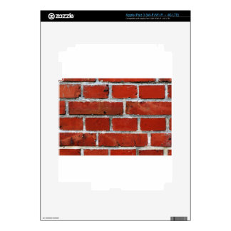 Bricks iPad 3 Decal