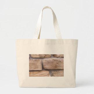 Bricks Large Tote Bag