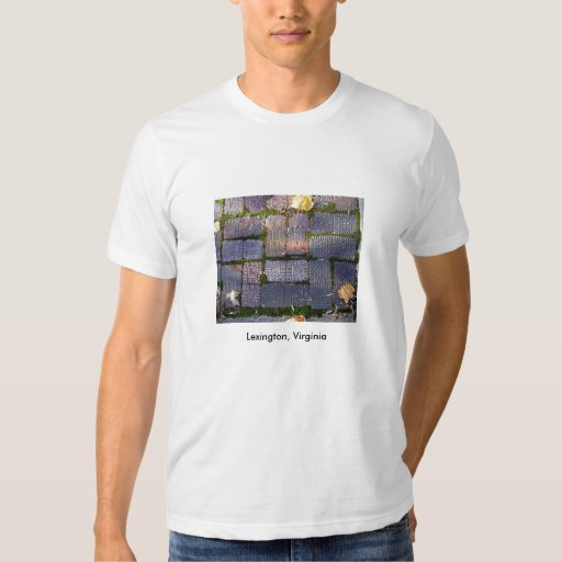 Bricks of Lexington VA T-Shirt