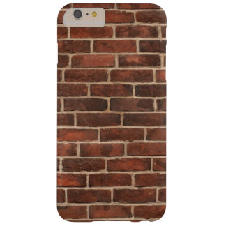 Bricks Pattern Barely There iPhone 6 Plus Case