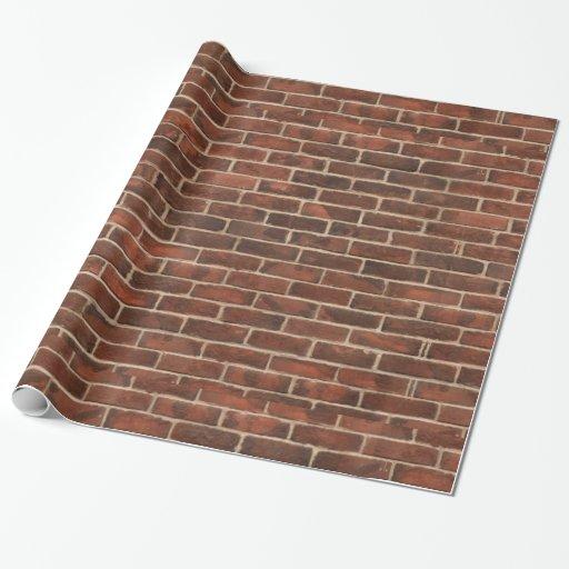 Bricks Pattern Wrapping Paper