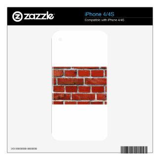 Bricks Skin For iPhone 4S