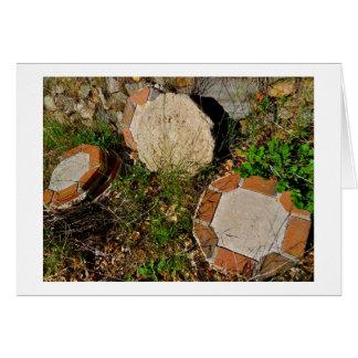 Bricks & Stones with border Card