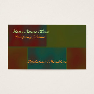 Bricks Template Business Card