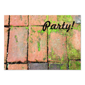Bricks Walkway Card