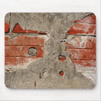 Bricks wall mousepad