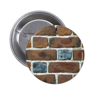 BRICKS WALL PINBACK BUTTON