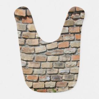 Bricks Wall Bib