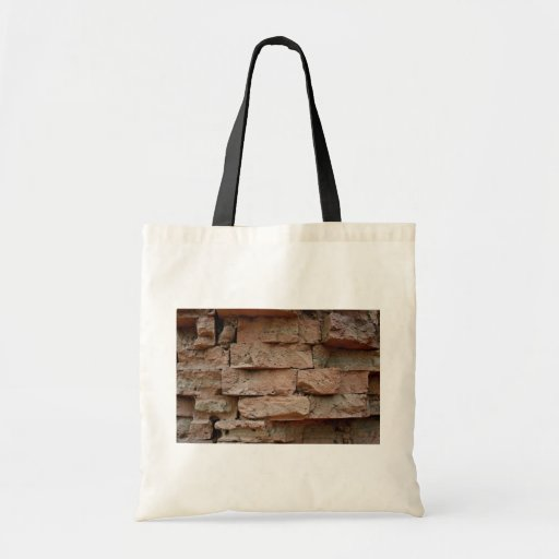 Bricks without mortar, used to construct Cham Towe Canvas Bags