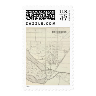 Bricksburg, Ocean County New Jersey Postage