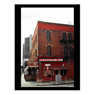 Bricktown Historic District - Detroit (MI) Postcard