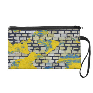 Brickwall 7 TPD Wristlet Clutch