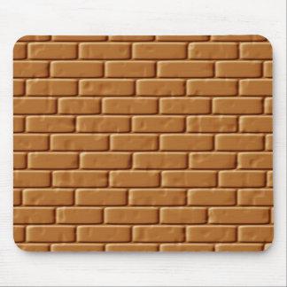 Brickwall texture mouse pad