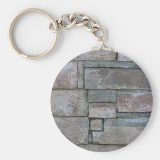 Brickwork for Mason or Brick Layer Keychain