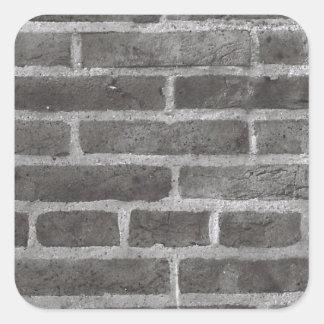 Brickwork Photo Design Square Sticker