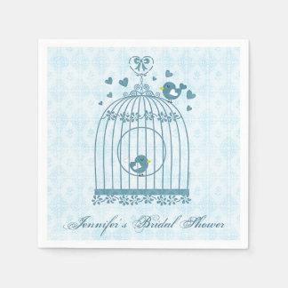 Bridal Bird Cage Standard Cocktail Napkin