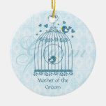 Bridal Bird Cage Wedding Party Gift Ornament