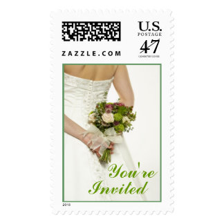Bridal Bouquet (7), You're  Invited Postage