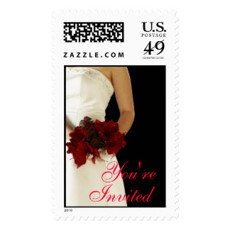 Bridal Bouquet (8), You're Invited Stamps