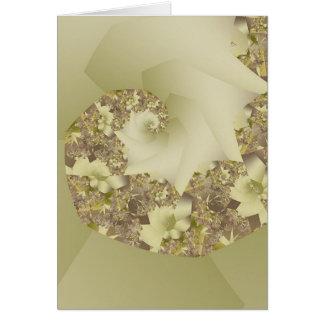Bridal Bouquet Card