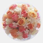 Bridal Bouquet Envelope Seal Stickers