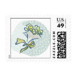 Bridal Bouquet Sketch Postage Stamp