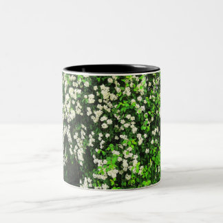 Bridal Bouquet Two-Tone Coffee Mug