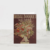 Bridal Bouquet Waltz Card