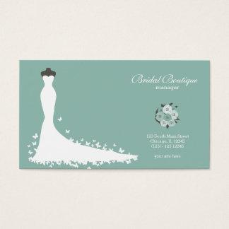 Bridal Boutique Choose Your Background Color Business Card
