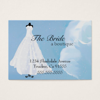 Bridal Boutique | Wedding Dress | Evening Gown Business Card