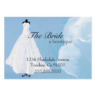 Bridal Boutique | Wedding Dress | Evening Gown Large Business Card