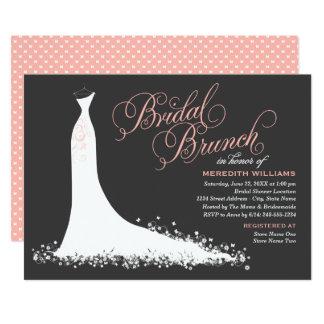 Bridal Brunch Invitation | Elegant Wedding Gown