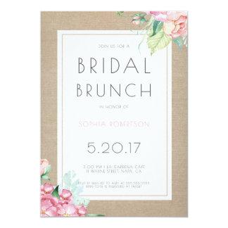 Bridal Brunch Party Invitation