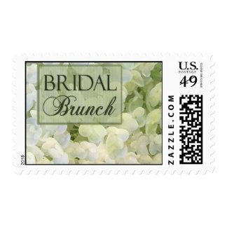 Bridal Brunch postage stamps