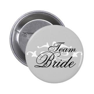 Bridal Button 1 Team Bride